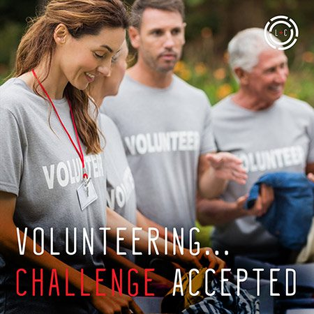 Volunteering - Challenge Accepted