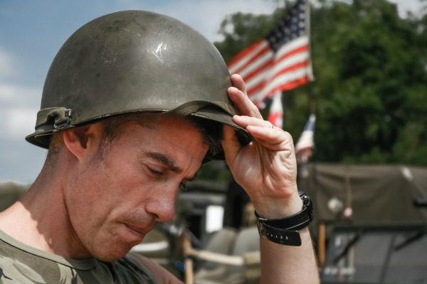 US Soldier in Vietnam