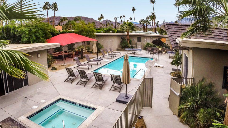 Michael's House Men's Center Pool