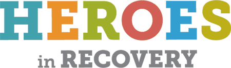 Heroes in Recovery logo