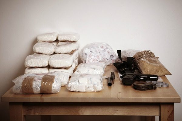 Smuggled drugs from Mexico