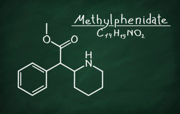 Meth chemical model