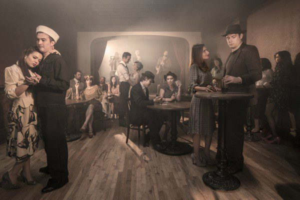 Prohibition speakeasy