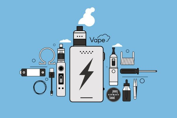 E-cigarette graphic