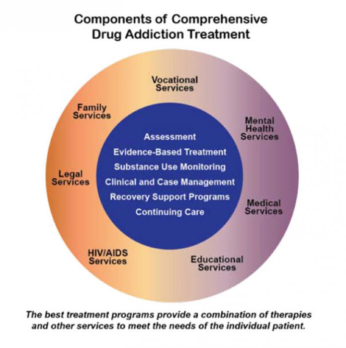 Components of Comprehensive Drug Addiction Treatment