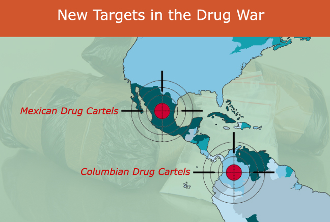new targets war on drugs